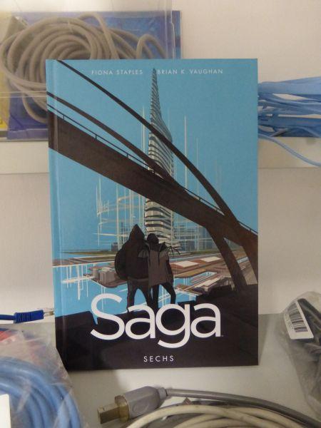 "Comiclese ""Saga"" von Brian Vaughan & Fiona Staples"