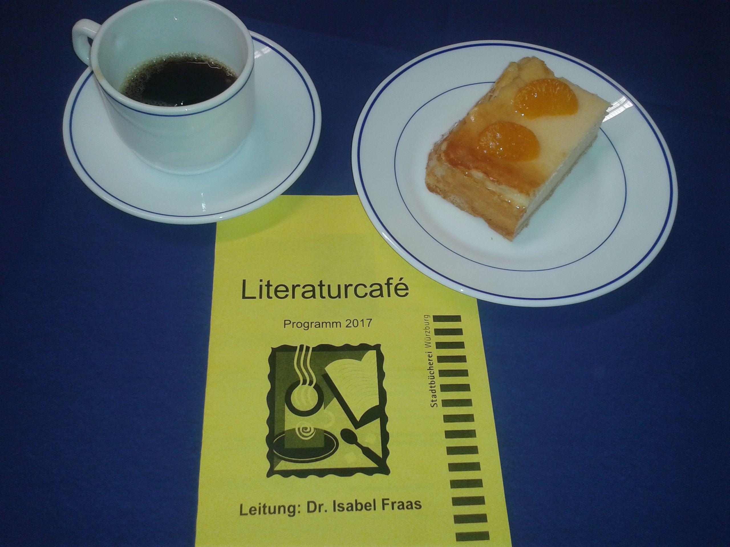 Unser Literaturcafé lädt ein…