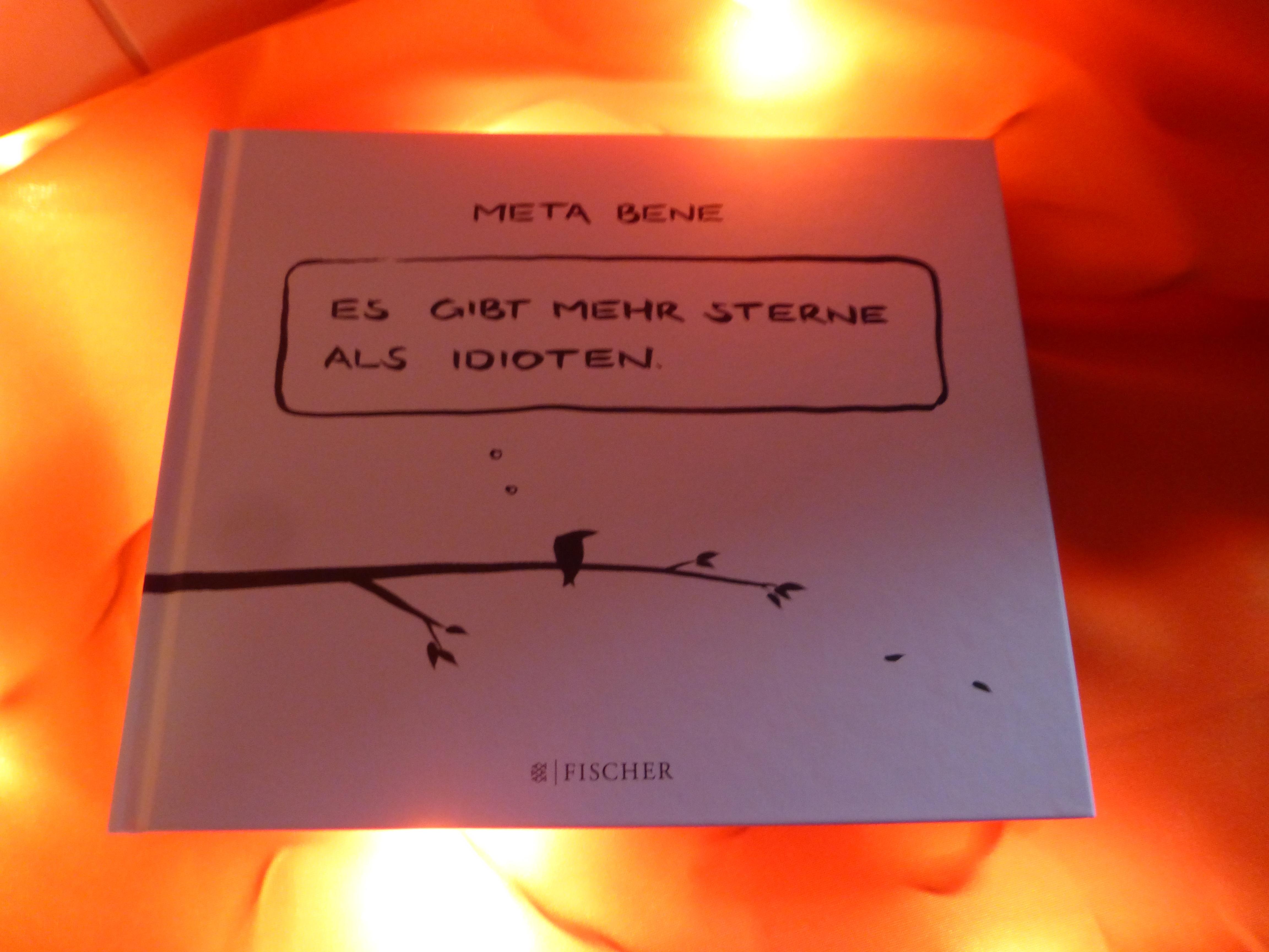 """Comiclese """"Meta bene – Es gibt mehr Sterne als Idioten"""" von Robin Thiesmeyer"""