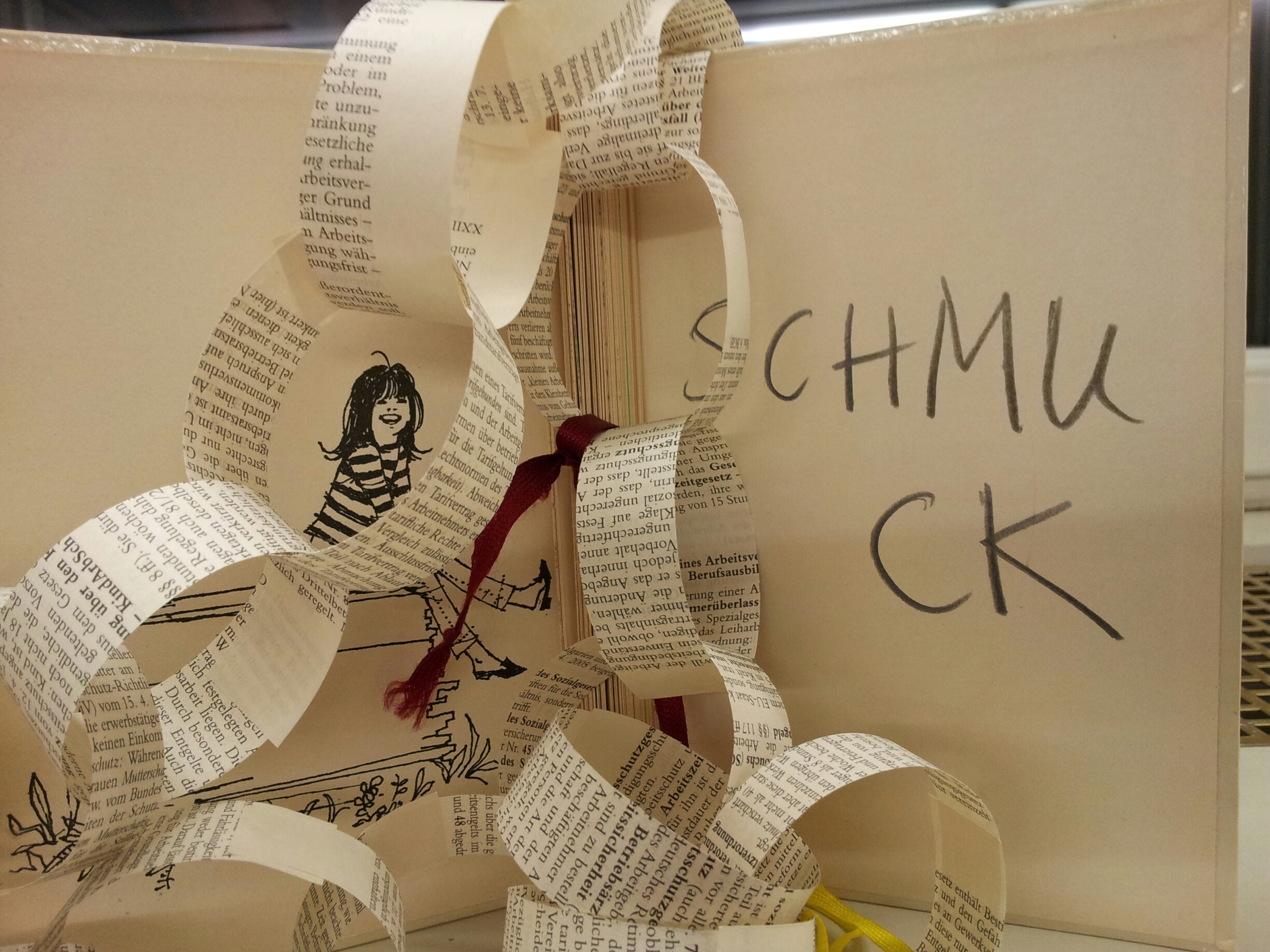 Workshop Upcycling mit Büchern