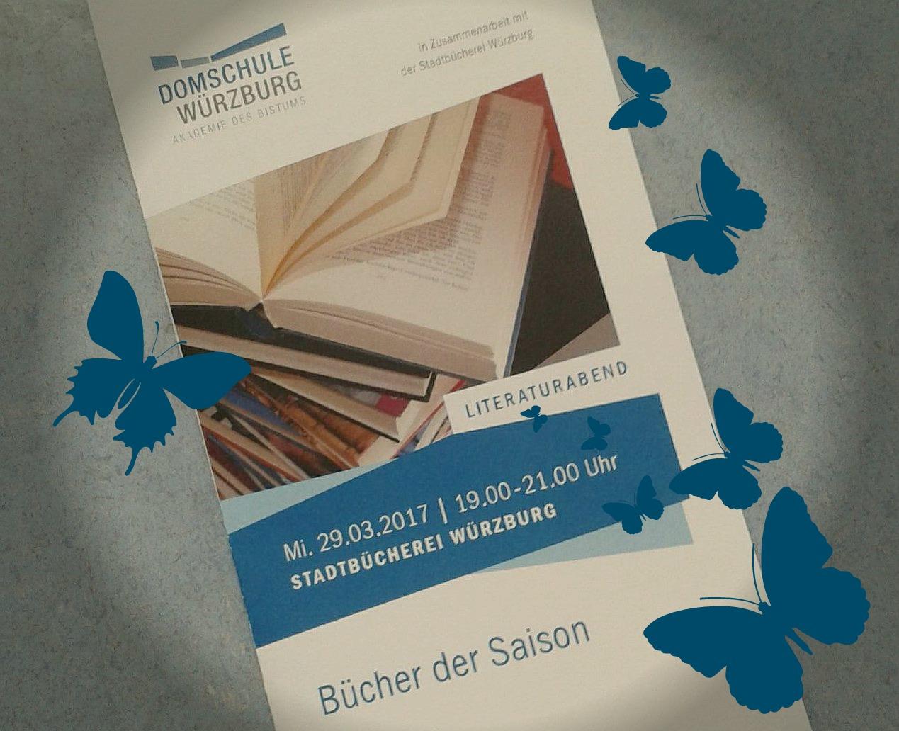 """""""Bücher der Saison"""" – Literaturabend"""