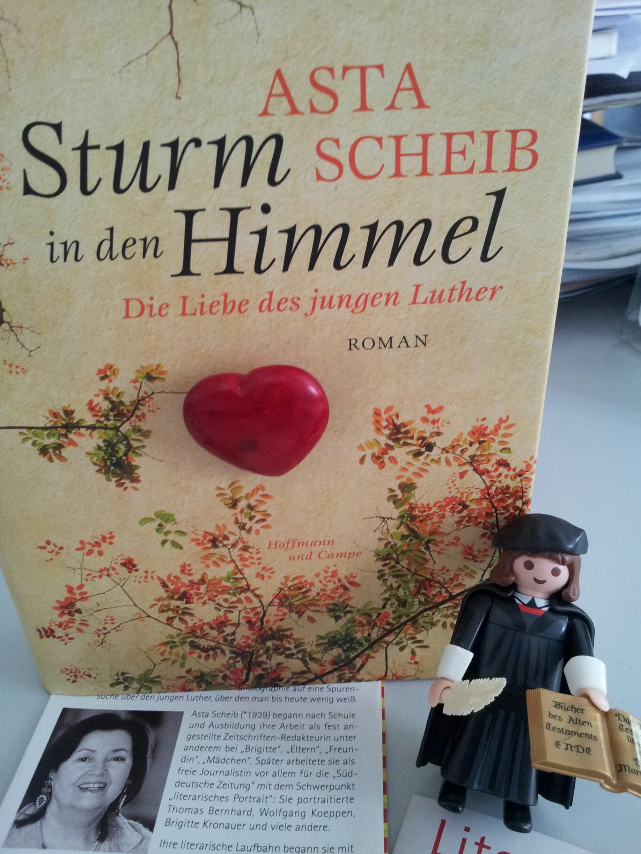 Lesung über den jungen Martin Luther mit Asta Scheib