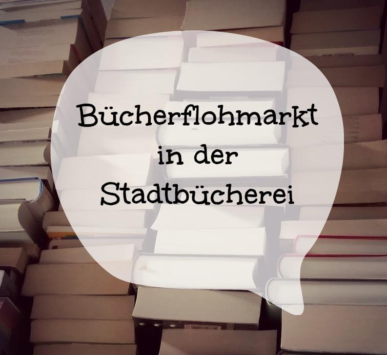 Der erste Bücherflohmarkt im neuen Jahr