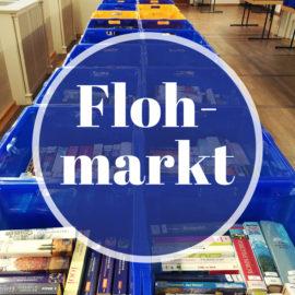 Bücherflohmarkt im Juli