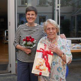 Nachruf auf Hildegard Poschet