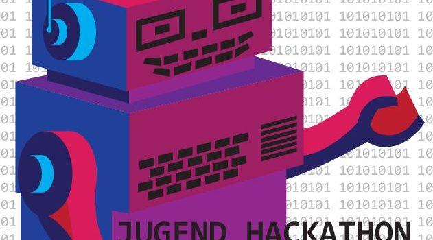 Der erste Jugend Hackathon in Würzburg bei uns in der Stadtbücherei!