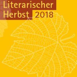 Literarischer Herbst 2018