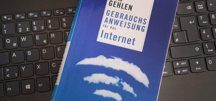 Buchtipp: Dirk von Gehlen – Gebrauchsanweisung für das Internet