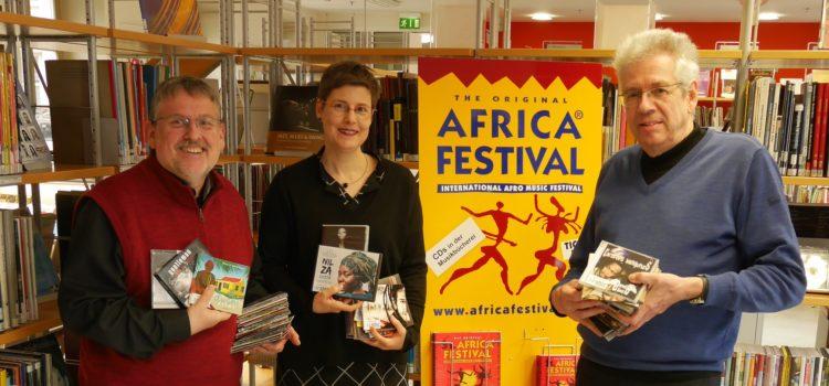 Africa Festival schon heute hören in der Stadtbücherei Würzburg