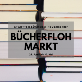Bücherflohmarkt in der Stadtteilbücherei Heuchelhof