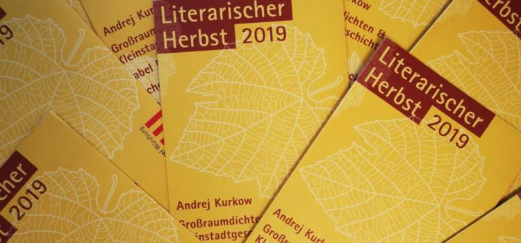 Literarischer Herbst 2019 in der Stadtbücherei Würzburg