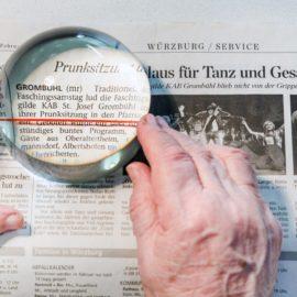 Blindeninstitut informiert in der Woche des Sehens