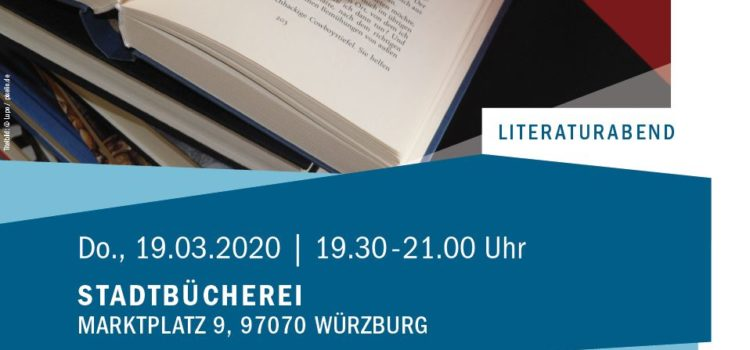 Bücher der Saison Frühjahr 2020 – entfällt!