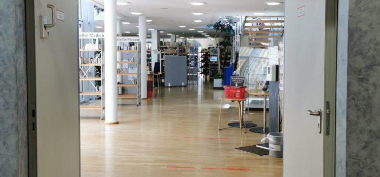 Verlängerte Öffnungszeiten und Lockerungen in der Stadtbücherei Würzburg
