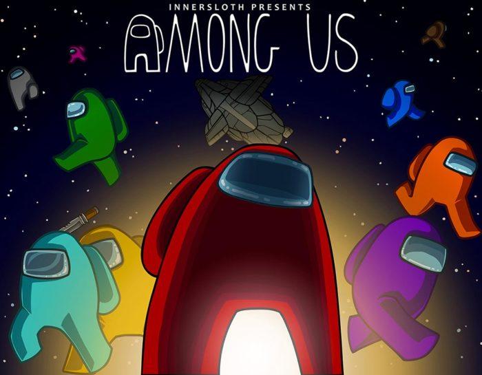 Spielfiguren - Titel AmongUs