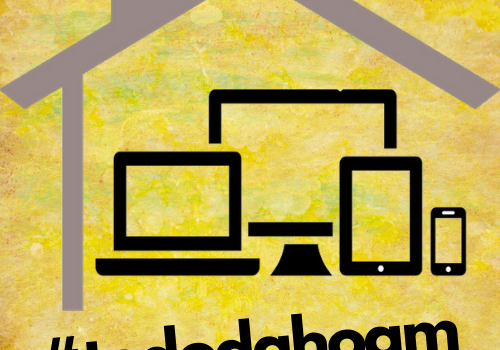 Logo #tododahoam - Smartphone, Laptop, PC, Tablet und Dach