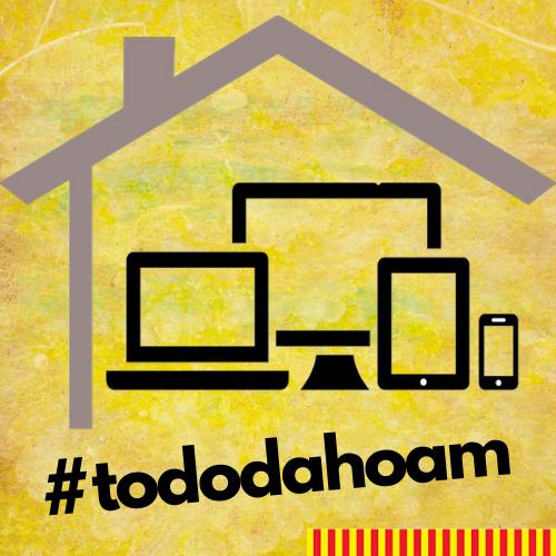 Logo #tododahoam - Smartphone, Laptop, PC, Tablet und Dach