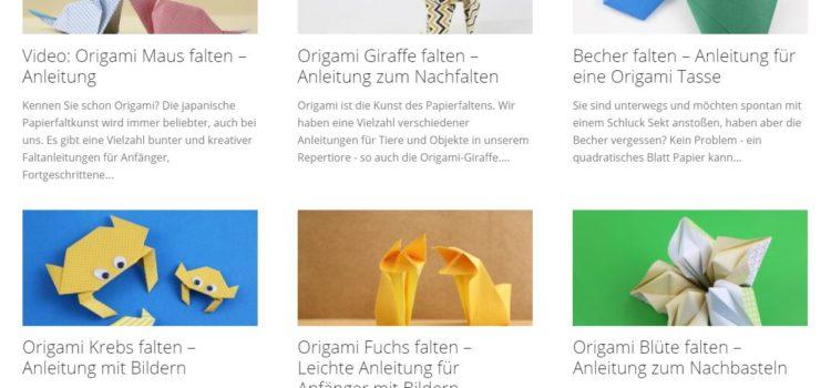 #tododahoam – Origami Basteltipp