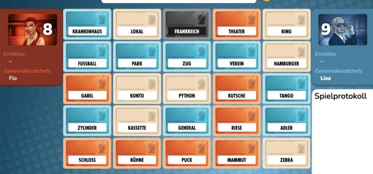 Screenshot Onlinespielfeld