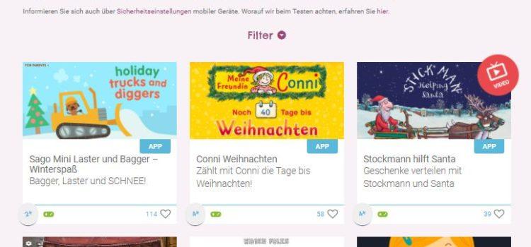 Screenshot der Seite KlickTipps.net