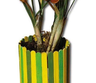 Blumentopf – Basteln mit Kindern