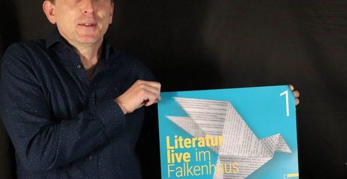 "Verschiebung unseres ""Literatur live im Falkenhaus"" Programms"
