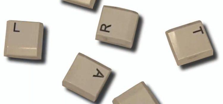 Tastatur upcyceln – Basteln mit Kindern