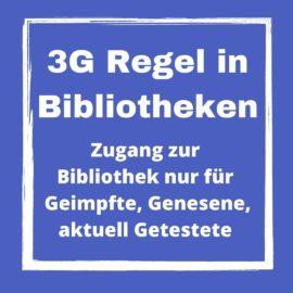 3G Regel für Bibliotheken