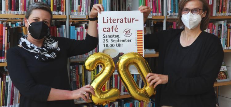 Literaturcafé – Jubiläum und neue Termine